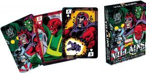 Marvel Villains Retro set of playing cards    -nm52327-